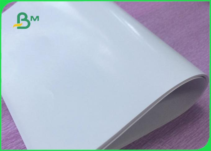 One side coated C1S Label paper For drinking bottle label printing