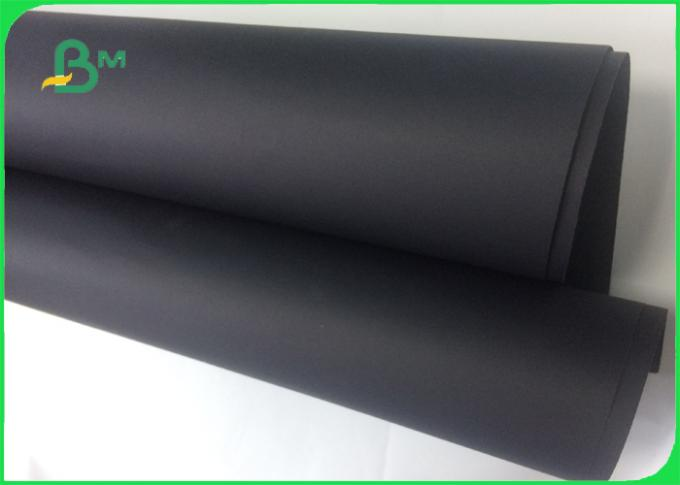 High quality shiny black paper / 1mm black cardboard paper sheet for packaging