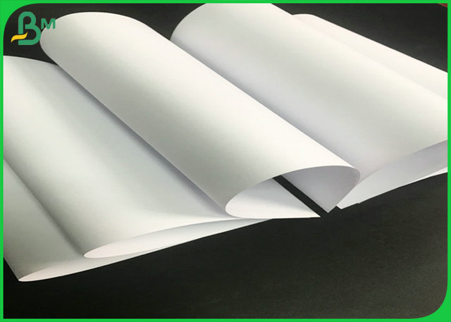 60g 70g Uncoated Woodfree Paper / White Exercise Book Paper With FSC Certificate