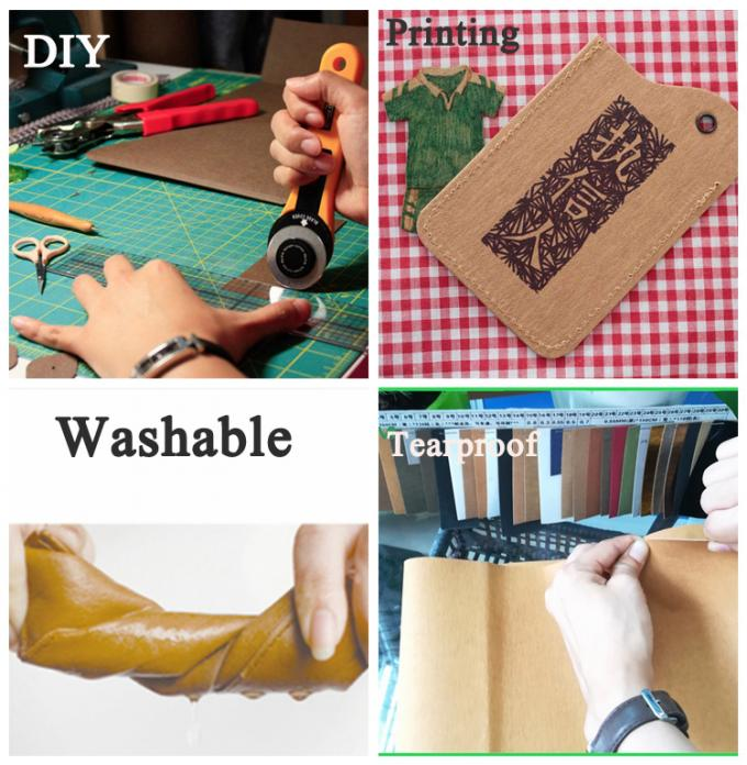 Environment Friendly White Washable Kraft Paper For DIY decorations