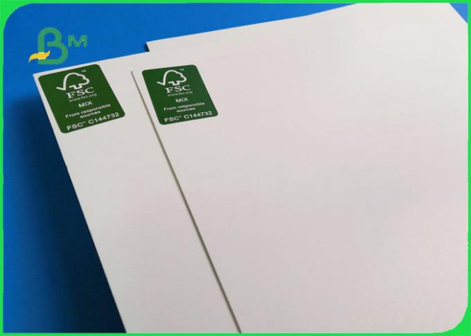 Top Stiffness Smoothness 300GSM One Side Coated Folding Box Board For Drug Box