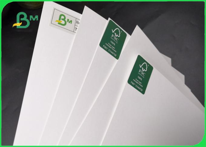 High Glossy 80gsm 90gsm 100gsm Two Sides Coated Couche Paper 79 * 109cm For Bag