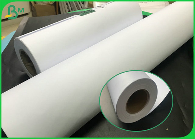 50G TO 100G Virgin Pulp Large Format Plotter Paper With A0 A1 FSC Certified