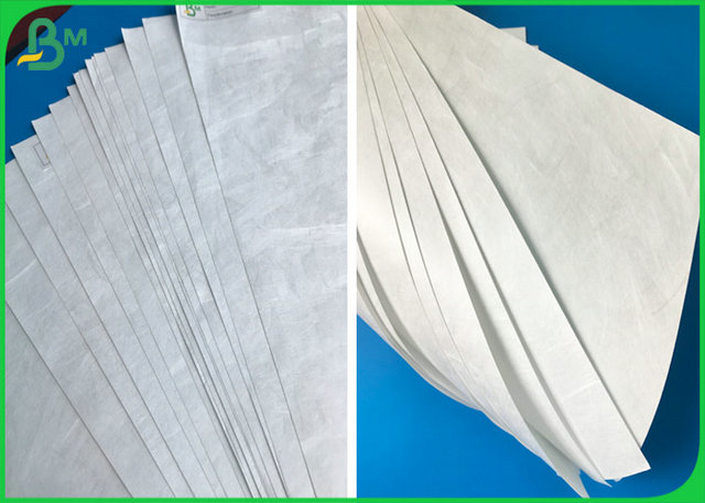 Printed Non Tear Paper , 43g To 75g Tyvek Inkjet Paper For Wristbands