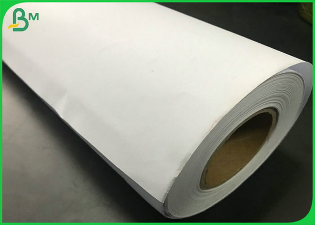 "100% Virgin Pulp Smooth Edges Plotter Printer Paper with 24 "" 36 "" Wide"