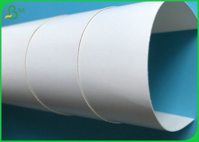 FSC Approved FBB Gloss Coated One Side Paper With Custom Sheet Or Roll