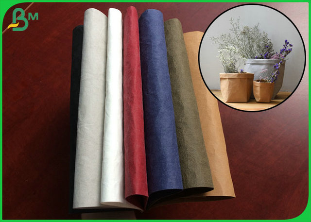 Different Color Optional 0.55MM Washable Fabric Material Roll For Making Bags