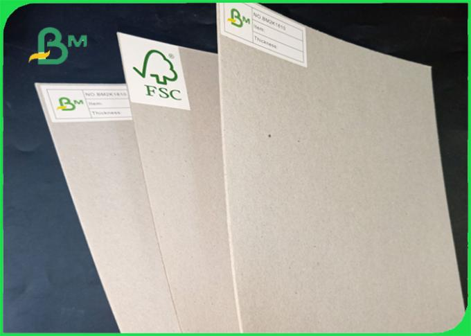 1.5mm - 1.35mm Smooth Surface Environmentally Friendly Greyboard In Sheet