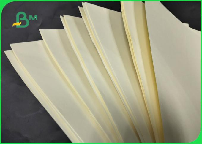 70GSM 80GSM Yellow Woodfree Paper / Bond Paper 100% Virgin Pulp FSC Certified