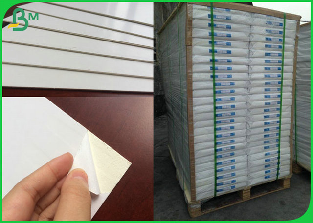 Glossy 1.5MM White Cardboard For Clothing Industry Painting Board