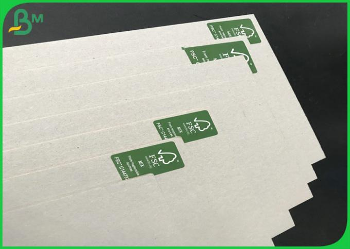 70*100cm Hard Stiffness 1.3mm 1.35mm 1.5mm Grey Carton Sheet For Packing Boxes