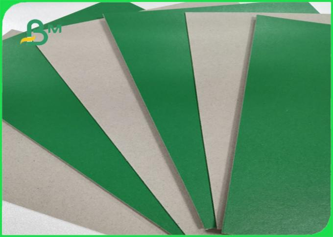FSC Accredited 1.2MM Green Board Great Stiffiness Rolls Packing For Making Box