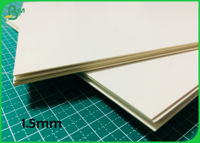 White Color Double Side 1MM 1.2MM 1.5MM Card Board With FSC Certification