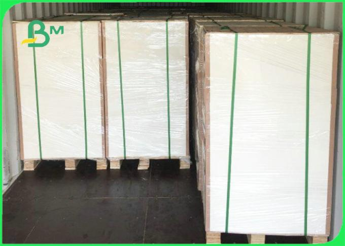 FSC Certificated 300gsm 350gsm 400gsm C1S Ivory Board For Packaging Boxes
