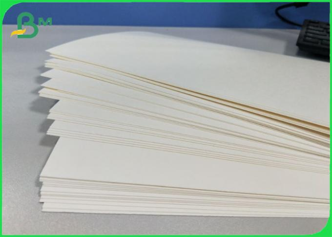 High Bulking 100% Wood Pulp Cupstock Based Paper 170 - 210 GSM Food Grade