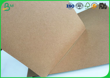 Brown Kraft Liner Paper Board 80gsm - 350gsm Stretching Resistance For Cement Bag Paper