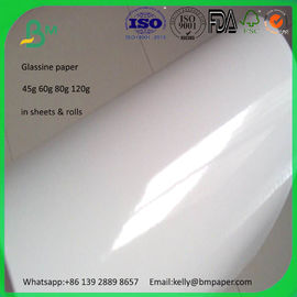 China 125g 165g 185g 225g cast coated high glossy paper rolls on sale supplier