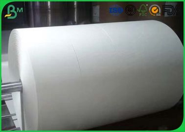 One / Two Side Coated Glossy Art Paper Jumbo Roll For Making Stick Paper