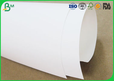 Food Grade White Kraft Liner Paper , Uncoated Jumbo Paper Roll For Pizza Box