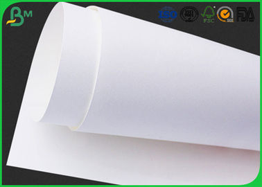 Natural / Super White Food Package Material White Kraft Paper Sheets For Envelopes