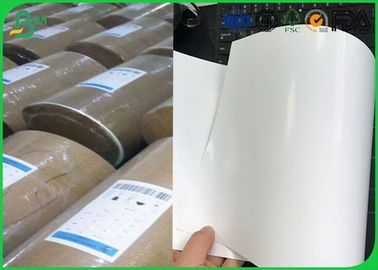 China Size Customized C1s Food Grade Paper Roll 72 gsm - 90gsm For Food Package supplier