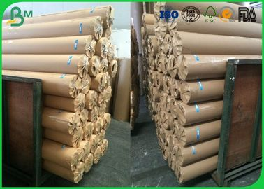 80gsm 120gsm Plotter Paper Roll No Adhesive Residue For CAD Printing