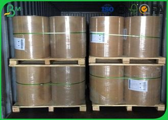 White Printing Jumbo Roll Paper 787mm Width 60gsm With Virgin Wood Pulp