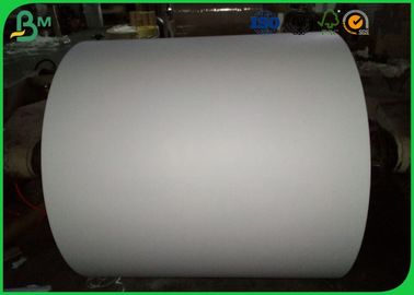 95 % - 98 %  Brightness Jumbo Roll Paper Colour Made From Recycled Wood Paper
