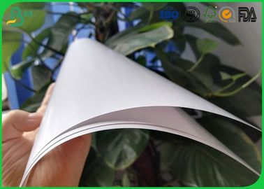 High Glossy Art Paper 2 Side Coated White Color For Book Cover Printing