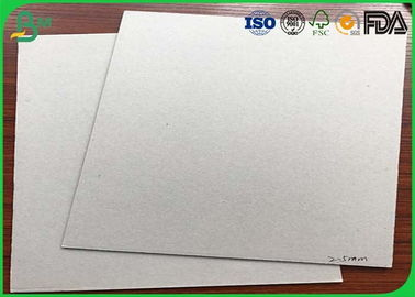 Notebook Covers Fluting Medium Paper , 300Gsm - 700gsm Grey Back Duplex Board