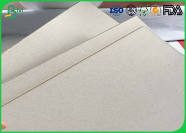 Uncoated Double Sided Corrugated Medium Paper Grey Chipboard Paper For Package Box