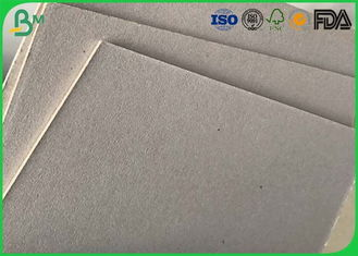 China 1mm 1.5mm 1.7mm Grey Back Duplex Board Flexible Size For Packaging Boxes supplier