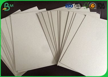 Chemical Pulp Raw Material Grey Board Sheets , 1.5mm Cardboard Wrapping Paper
