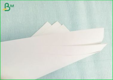 China Single Side Kaolinite Coated Cardboard Sheets , Food Grade Whiteboard Paper Roll supplier
