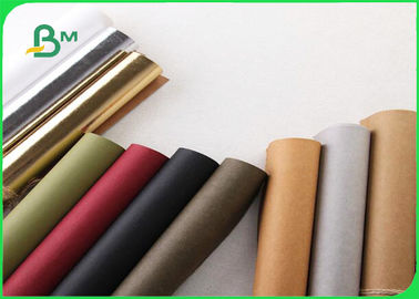 Eco Friendly Washable Paper Kraft Paper Fabric 0.5mm 0.7mm 0.8mm For Tote Bag