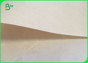 70gsm 95gsm Sack Kraft Paper / Brown Unbleached Liner For Book Printing
