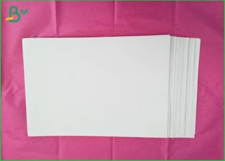 Virgin Wood Pulp Smooth Glossy Coated Paper 5.5-7.0% Moisture For Offset Printing