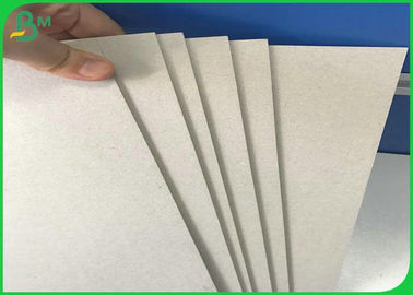 China Rigid Grey Board Paper , 0.8mm 0.9mm 1mm 2mm 3mm Laminated Chipboard supplier
