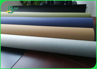 China Water-resistant Brown Kraft Liner Paper Natural Fabric 150cm Width supplier