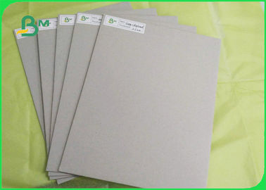 China Professional Book Binding Board 0.9mm 1.0mm Recycled Pulp Grey Board Paper supplier