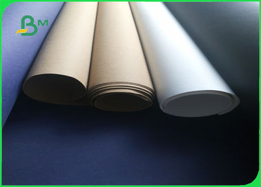 0.55mm Durable Washable Fabric Kraft Liner Paper in White & Brown Color