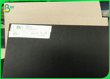 China Grey Black Card board 150gsm 250gsm 300gsm 350gsm 450gsm 1.5mm to 3.0mm Black Carton Gris supplier