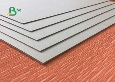 Uncoated Laminated Grey Board 1.0mm - 3.0mm Thickness Grey Carton Paper For Packing Box