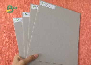China Strong Stiffness Book Binding Board 1.9mm 3.0mm Thickness Double Grey Paper For Folders supplier