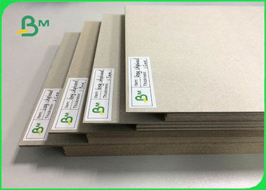 0.5mm To 3mm FSC Certified Laminated Grey Board Carton Gris For Book Binding Board Arch Lever Files