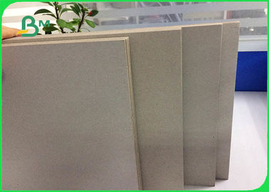 Recycled Pulp Laminated Grey Board 3.0mm Gray Paperboard For Advertising Board
