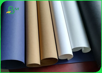 China 0.5mm Washable Gold / Blue / Red / Black / White / Silver Color Kraft Paper supplier