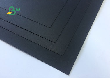 400gsm 450gsm Thickness Book Binding Board / Black Paper Board Sheet / Roll For Poster Board