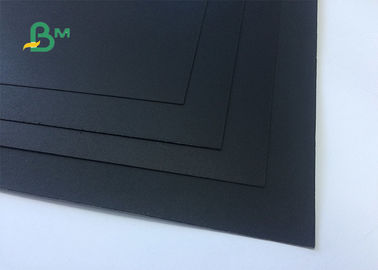 China 100% Environmentally Friendly Book Binding Board / Black Cardboard For DIY Photo Album supplier