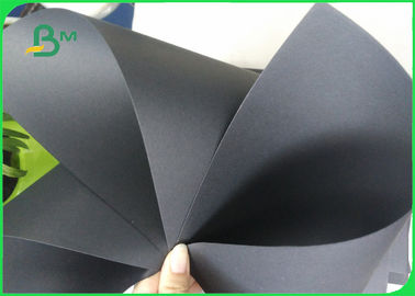 China 80 - 450gsm Ivory Board Paper / Single double Black Cardboard for Storage Box Making supplier